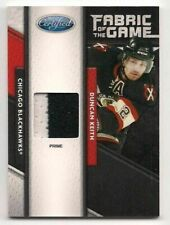 Duncan Keith 11-12 Panini Certified Fabric of the Game Prime Jersey /25 2c