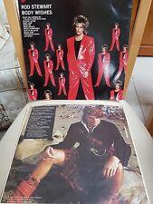 Rod Stewart vinyl LP Body Wishes 1983 92-3877-1