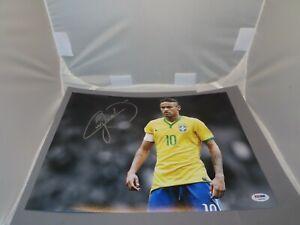 Neymar Jr. Signed 11x14 Photo Team Brazil Autographed PSA/DNA LOA 1A