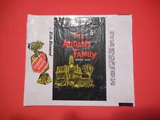 1964 ADDAMS FAMILY 5cent CARD WRAPPER DONRUSS