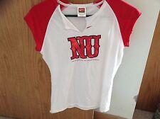 Nike Women's size Medium (8-10) Nebraska Husker sleeveless shirt white and red
