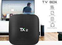 2017 4K Quad Core Android TV Box Ultra HD Media Player Streamer 3D Wifi TX2 New