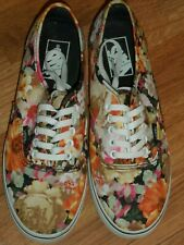 8e94e32788 men 5.5 women 7 ~ floral ~ VANS shoes EUC low pro
