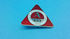Ascot horse racing autorité support badge - 1991