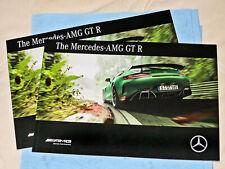 Mercedes AMG GTR Sales Brochure (Int'l English), 2017 Edition (C190)