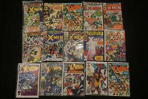MARVEL COMICS (30) LOT OF 15 X-MEN COMICS