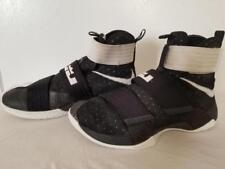 7150599fe9d Style  Basketball Shoes. Nike LeBron Soldier 10 Black Metallic Silver-White  844380-001 Mens 9.5