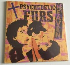 """The Psychedelic Furs – Heaven / Heartbeat 7"""" Yellow Coloured Vinyl 2018"""