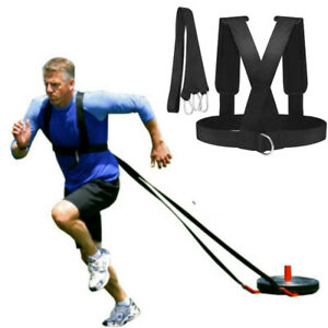 Equipment Harness Pull Weight Drag Sled Gym Training Sport Muscle Strap Workout