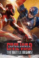 Marvel Captain America Civil War Book of the Fil, Marvel, New