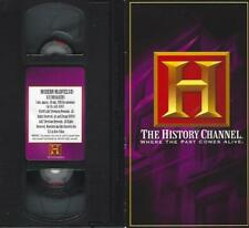 VHS: THE HISTORY CHANNEL MODERN MARVELS ICE BREAKERS