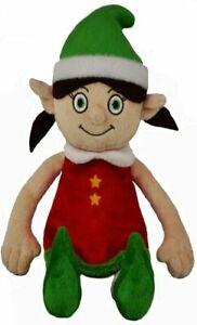 Christmas Elf - SOFT TOY - brand new - 30cm tall.  naughty/good girl elf.