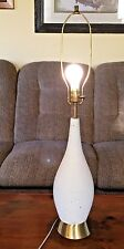 Vintage  Mid Century Table Lights Layered Rope Look