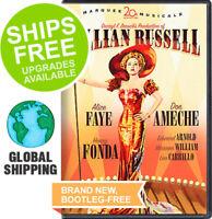 Lillian Russell (DVD, 2007) NEW, Alice Faye, Henry Fonda, Don Ameche