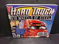 Hard Truck: 18 Wheels of Steel Jewel Case (PC, 2003) B226