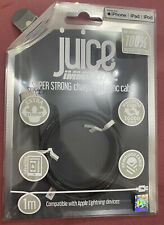 Juice Immortal Lightning Charge and Sync Cable 1m (grey) – iPhone iPad iPod