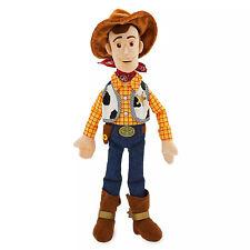 Toy Story Large Plush Sheriff Woody Rag Doll 45cm Disney Store