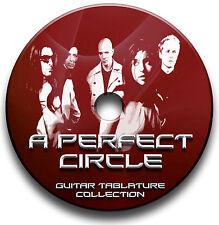 A PERFECT CIRCLE ROCK GUITAR TAB TABLATURE SONG BOOK SOFTWARE CD