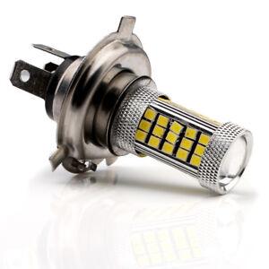 10Pcs H4 Fog Led 2835 SMD 66-LED 12V 24V Auto Car White Fog Lamp Light Bulb