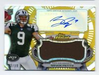 2015 Topps Finest BRYCE PETTY Rookie RC AUTO AUTOGRAPH GOLD REFRACTOR JSY #/99