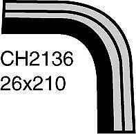 Mackay Radiator Hose (Bottom) CH2136 fits Suzuki Vitara 1.6 (ET,TA), 1.6 (TA,...