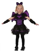 Childs Bat Princess Halloween Fancy Dress Costume Outfit Age 3 Toddler