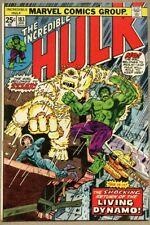 Incredible Hulk #183-1975 fn+ 6.5 Herb Trimpe Len Wein