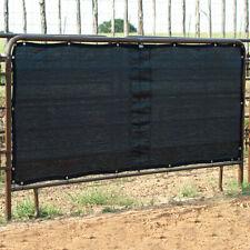 C-Ps10 Cashel Stall Panel Screen Multiple Brass Grommets Adjustment Black