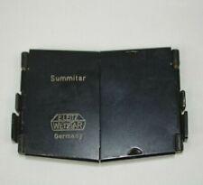 Vintage Leica Leitz Wetzlar SOOPD Summitar Lens Shade Folding Hood
