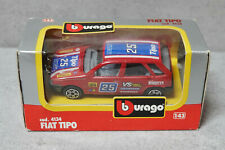 Burago Fiat  Tipo Rally 3 Door Red 1/43  Cod. 4134