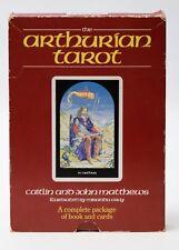 The Arthurian Tarot, Matthews Caitlin & John, The Complete Package Book & Cards