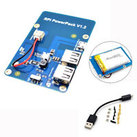 New Lithium Battery Power Supply Expansion Board with Dual-USB fit Raspberry Pi