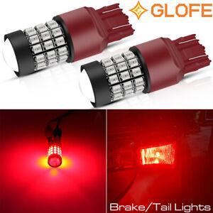 Strobe 39SMD LED Brake Stop Tail Light Bulb Marker Blinker Bright Pure Red GLOFE