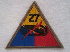Korean Era Us Army 27th Armored Division Mint Patch.Original & Authentic