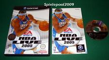 NBA Live 2005 mit Anl. u. OVP für Nintendo GameCube
