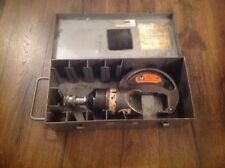 Thomas and Betts Corporation TBM-15PF 15 Ton Hydraulic Crimper Metal Case