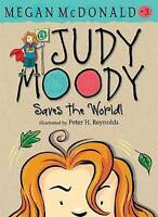 Judy Moody Saves the World! by Megan McDonald, Acceptable Used Book (Paperback)