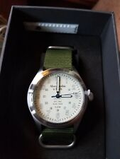 Abercrombie & Fitch Watch Stainless Steel with Green Nylon Bands 39MM Mens