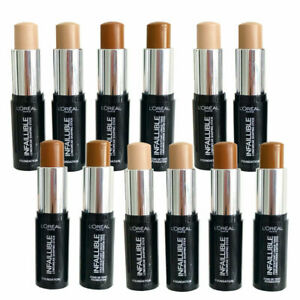 L'Oreal Paris Infallible Longwear Shaping Foundation Stick Choose Your Shade