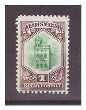 SAN MARINO 1929  -  VEDUTA   LIRE  1    NUOVO  **
