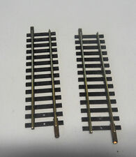 F5 ) 2 rails petits droits 100 mm FLEISCHMANN 1700/2  train electrique HO