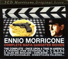 ENNIO OST/MORRICONE - COMPLETE MAFIA GANGSTER MOVIES 5 CD NEW! MORRICONE,ENNIO