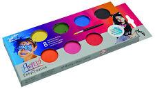 Kinder Schminke Aqua Farbe Jofrika Set 8 Farben  Kinderschminke Theaterschminke