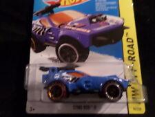 Hw Hot Wheels 2015 Hw Off-Road #86/250 Sting Rod Ii Military Hotwheels Blue Vhtf