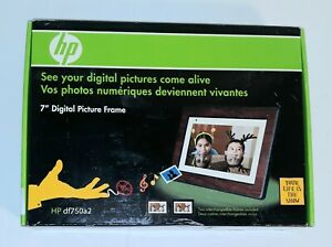 HP DF750 7-Inch High Resolution Digital Picture Frame with WIRELESS Remote