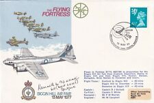 AD26a Flying Fortress. Flown Signed by  K M Stoddart British pilot Battle of Bri