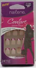 Lot of 6 Nailene Couture Nails - Starry Sky 71164 (Red)