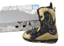 New $250 Burton Iroc Snowboard Boots! Us 5.5 Uk 3.5 Mondo 22.5, Euro 36 Blk/Gold