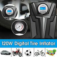 Car Portable Air Compressor Pump DC 12V Digital Tire Inflator 150 PSI LED  I V