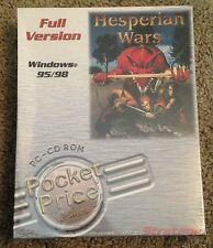 Hesperian Wars, Full Version, PC Video Game, Windows 95/98, Full Box, New